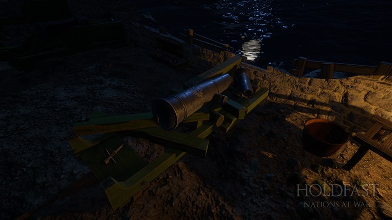 Holdfast NaW - Fort Imperial Destroyed Coastal Gun