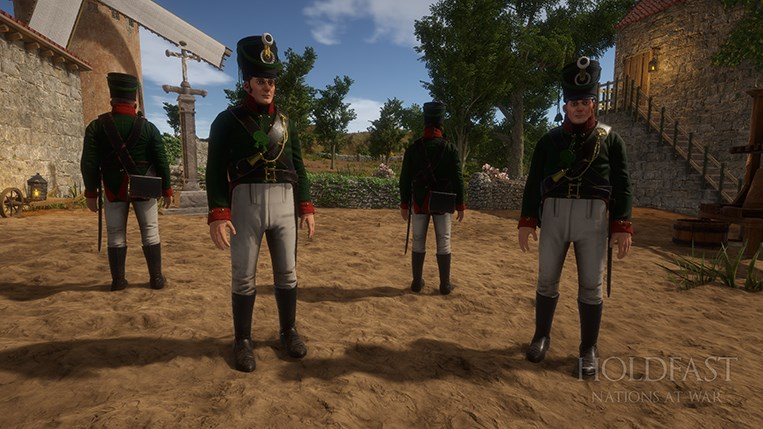 Holdfast NaW - The Prussian Rifles