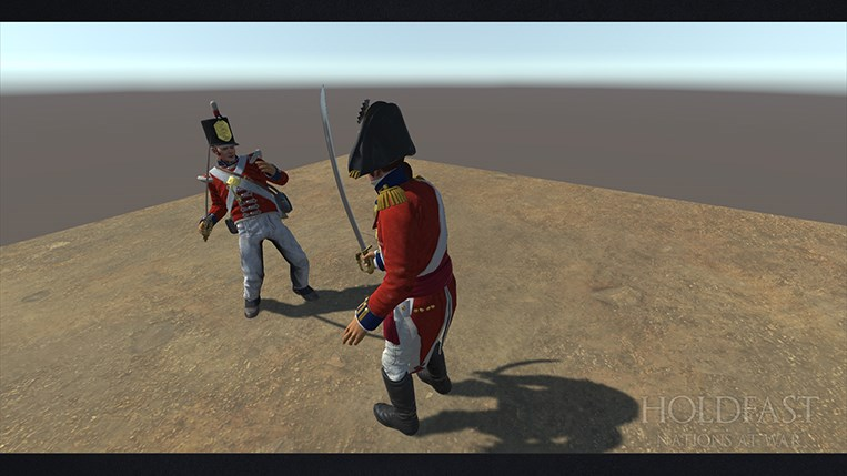 Holdfast NaW - Hit Reaction Animations